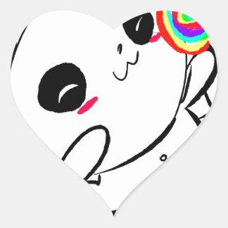 Pop de Lolli Adesivo Coração