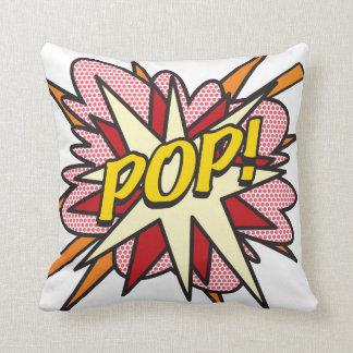 POP do pop art da banda desenhada! Almofada