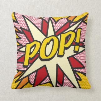 POP do pop art da banda desenhada! Travesseiros De Decoração