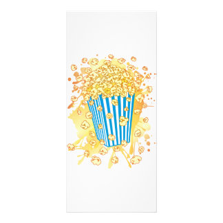 POPCORN_PARTY 10.16 X 22.86CM PANFLETO