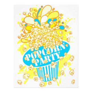 POPCORN_PARTY PANFLETOS COLORIDOS
