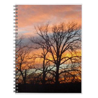Por do sol 1 do inverno caderno
