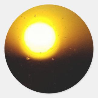 Por do sol adesivo