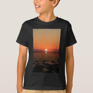 Por do sol camiseta