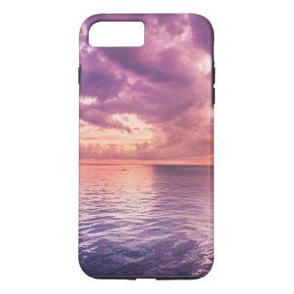 Por do sol capa iPhone 7 plus