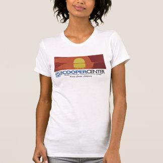 Por do sol Center de OC do tanoeiro Camiseta