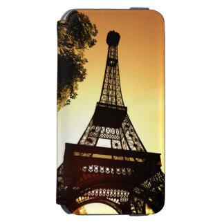 Por do sol da carteira da capa de telefone pela capa carteira incipio watson™ para iPhone 6