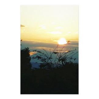 por do sol da costa oeste papelaria