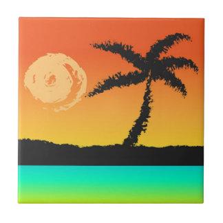 Por do sol da ilha