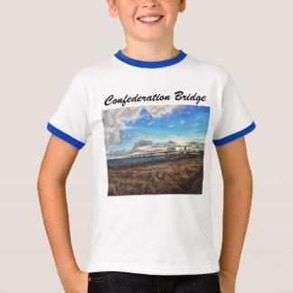 Por do sol da ponte da confederação, PEI Camiseta