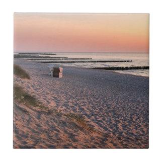 Por do sol da praia de Ahrenshoop