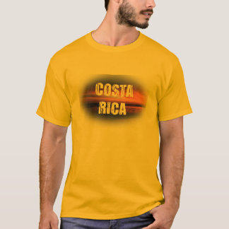 Por do sol de Costa Rica Camiseta