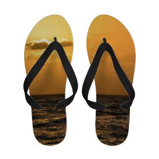 Por do sol de Kauai Sandalias De Dedo