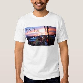Por do sol de San Jose Costa Rica Tshirts