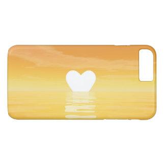 Por do sol do amor - 3D rendem Capa iPhone 7 Plus