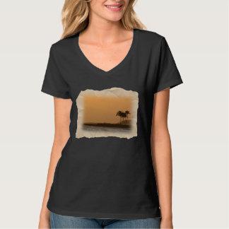 Por do sol em Kauai Camiseta