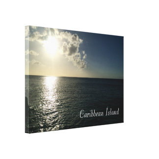 por do sol nas canvas do oceano