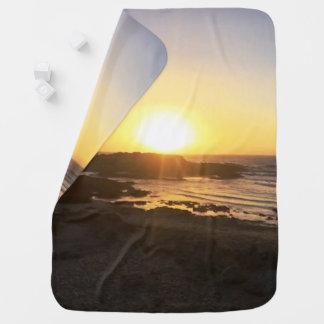 Por do sol romântico || Pescadero, CA || Cobertor Para Bebe