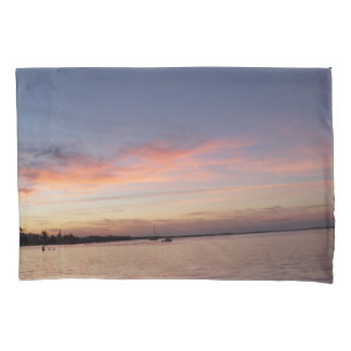 Por do sol sobre a baía de Florida, Largo chave FL