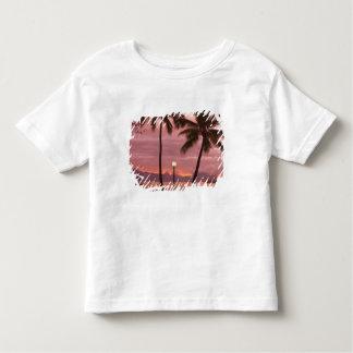 Por do sol sobre Moorea da praia de Sofitel Maeva Camiseta