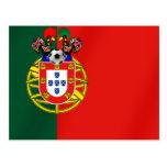 Por Fás de Portugal de Bandeira Portuguesa Classic Cartões Postais