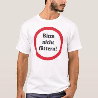 Por favor não acolchoam! camiseta