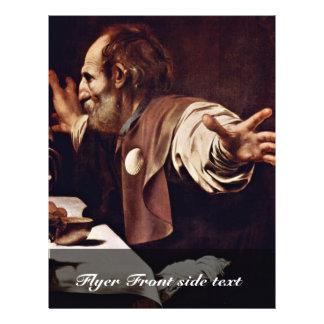 Por Michelangelo Merisi a Dinamarca Caravaggio Modelos De Panfleto