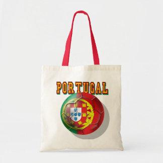"""Por Portugueses do Bola de """"Portugal"""" Sacola Tote Budget"""