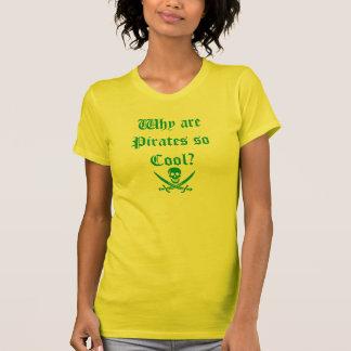 Por que são os piratas assim que esfrie? (T-shirt) Camiseta