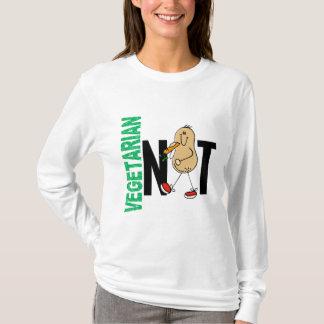 Porca 1 do vegetariano camiseta