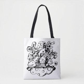 Porca de Bag_Jungle do bolsa do Doodle