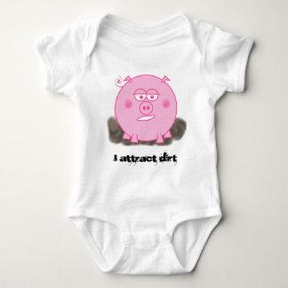 Porco cor-de-rosa tshirts