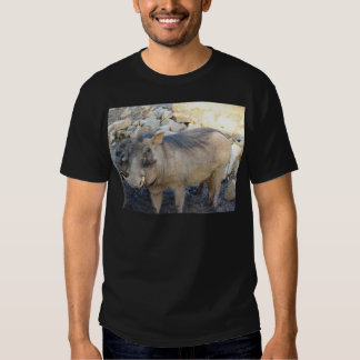 Porco da verruga t-shirts