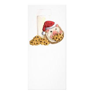 Porco do biscoito do Natal 10.16 X 22.86cm Panfleto