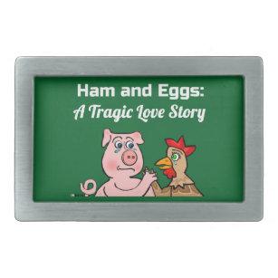 Porco e galinha uma tragédia do Vegan dos desenhos