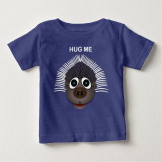 Porco- - t-shirt fino do jérsei do bebê