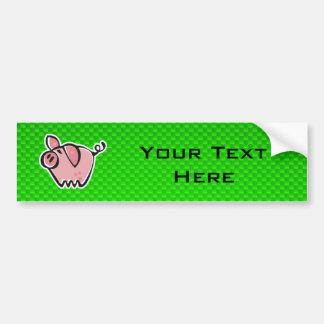 Porco verde adesivo