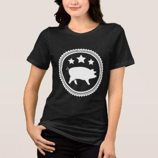 Porcos & estrelas camiseta