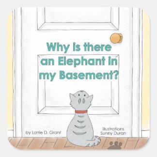 Porque há um elefante em minha etiqueta do porão