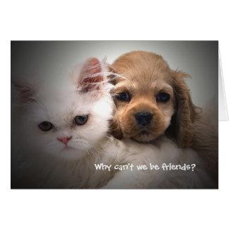 Porque não podemos nós ser cartão dos amigos