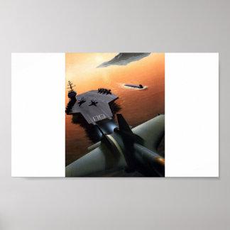 Porta-aviões do poster