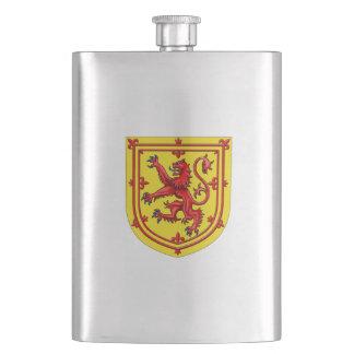Porta Bebida Brasão desenfreado do leão de Scotland