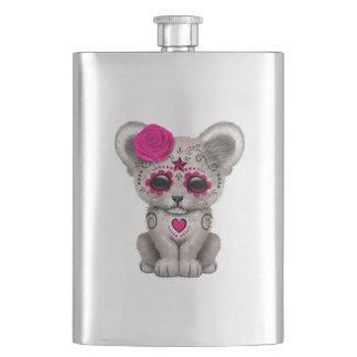 Porta Bebida Dia cor-de-rosa do leão Cub inoperante
