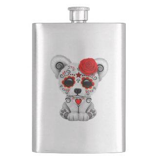 Porta Bebida Dia vermelho do urso polar do bebê inoperante