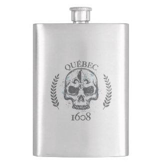 Porta Bebida Garrafa Falca álcool Quebeque Skull/Crânio Biker