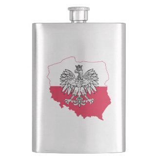Porta Bebida Garrafa polonesa da bandeira
