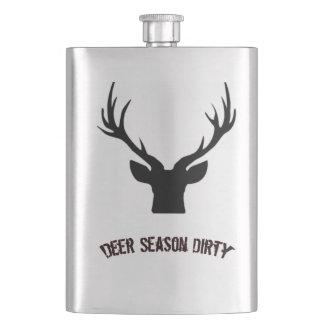 Porta Bebida Garrafa suja da estação dos cervos