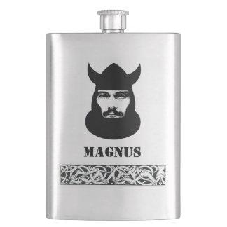 Porta Bebida Seu nome nesta garrafa celta de Viking