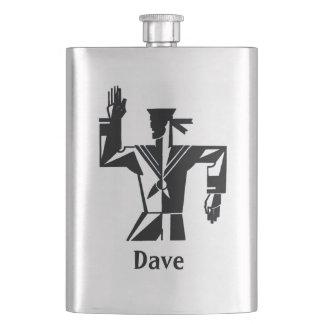 Porta Bebida Seu nome nesta garrafa do marinheiro