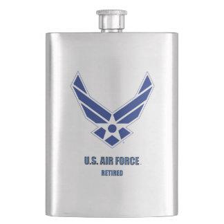 Porta Bebida U.S. Garrafa clássica aposentada força aérea